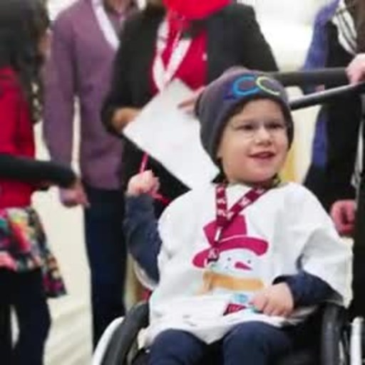 VIDEO: In Toronto, visiting kids were treated to a 'superhero' experience, where they had a chance to create a real life personalized trading card, highlighting their superhero name and power.