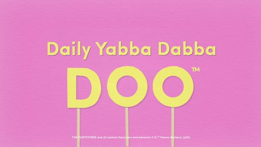 """PEBBLES™ Cereal Launches New Video Series to Help Parents and Inspire Creativity in Kids with the """"Daily Yabba Dabba Doo™"""""""