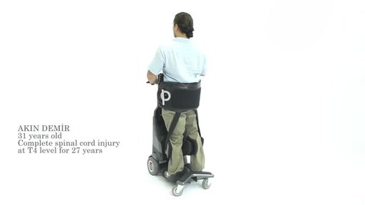 Tek RMD is a motorized standing movement device that offers the ability for those who are in a manual wheelchair to complete everyday activities from a standing position. Unlike other standers, users can board and control a Tek RMD unassisted. Numotion is the exclusive distributor in the U.S.