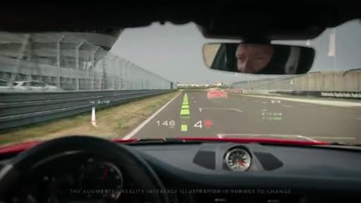 WayRay + Porsche - Track Interface