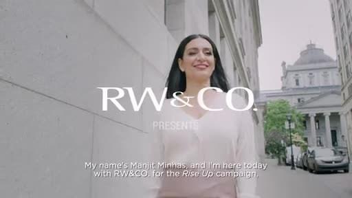 RW&有限公司与曼吉特·明哈斯(Manjit Minhas)和莱恩·梅里菲尔德(Lane Merrifield)合作于2021年秋季上映