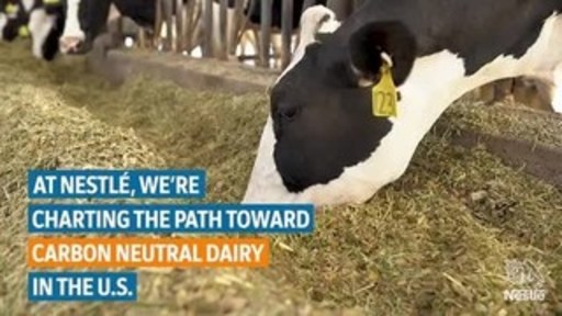 Carnation supplier Trinkler Dairy Farm is the first pilot farm to join the U.S. Dairy Net Zero Initiative. Nestlé, the Innovation Center for U.S. Dairy and Trinkler Dairy Farm will pilot new technologies and economically viable practices aimed at achieving carbon neutrality within the next five years.