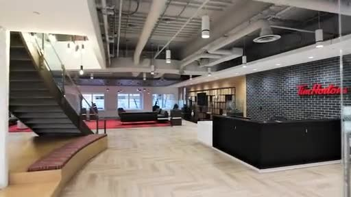 VIDEO: Tim Hortons unveils new downtown Toronto head office inspired by its Canadian roots. Video credit: A Frame Inc.