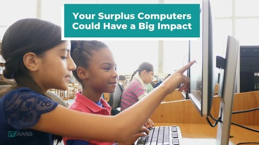 ITAMG Cares helps businesses dispose of computer equipment safely and provides laptops to students in need.