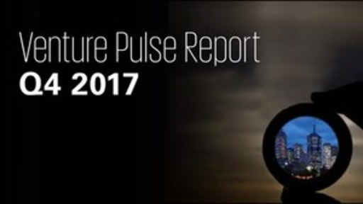 2017 U.S. Venture Capital Investment Reaches Record $84.2 Billion After Strong Q4: KPMG Report