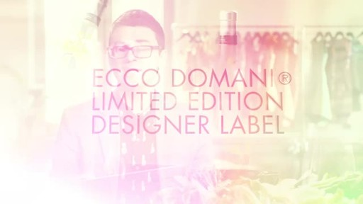Inspiration behind Christian Siriano's limited edition label design for Ecco Domani Pinot Grigio