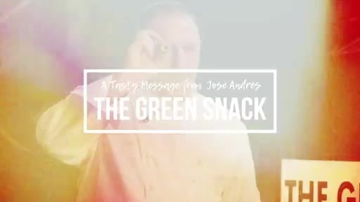 Tasty message: The Green Snack