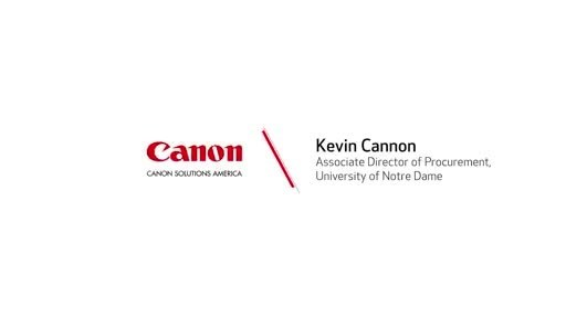 Canon Solutions America Powers University of Notre Dame Athletics' Printing Capabilities