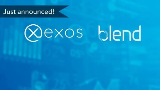 EXOS Technologies, Blend Announce Partnership to Extend the Consumer