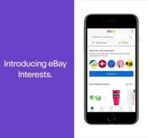 Today, eBay announces the launch of Interests – a new feature that transforms your homepage with themes and items chosen based on your passions, hobbies, and style.