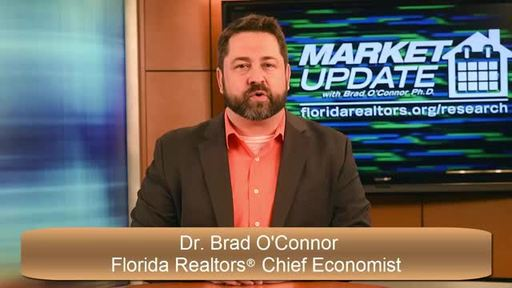 Florida Realtors(R) Chief Economist Dr. Brad O'Connor keeps you up-to-date on Florida's latest housing statistics and provides insight into what the numbers really mean in this February 2017 Market Watch video.
