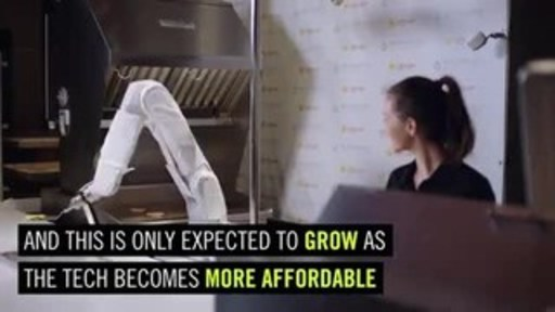 Robotics and AI are transforming commercial and fast-food kitchens