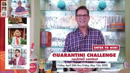 "Shaking Things Up! with Mark Addison, Episode 1: The Quarantini Challenge Join Entertaining Expert Mark Addison, author of the ""Best in the World"" award-winning book COCKTAIL CHAMELEON, on his new web series ""Shaking Things Up!"" LIVE on Facebook on Fridays at 3:30 PM. Episode 1: Mark introduces the Quarantini Challenge and shares his Quarantini Cocktail - Lady Marmalade. Tune in this week for Episode 2 where Mark will share his tips on setting up a home bar and 3 Cinco de Mayo cocktails, Cheers!"