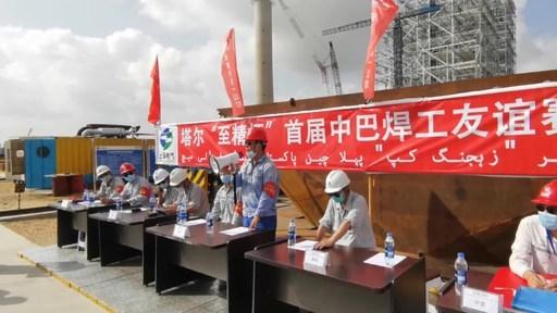 Shanghai Eletric solda caldeira no Paquistão enquanto capacita soldadores locais