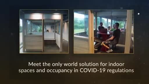 THE WORLD SOLUTION FOR INDOOR SPACES AND OCCUPANCY RELEASED FOR COVID-19 REGULATIONS:  Using science-informed designs to isolate people in public spaces, MachWall CONNECT revolutionizes how businesses reopen during a pandemic. The air management system prevents exhaust spill over from one space to the other, while treating and purifying the air for safe return. MachWall CONNECT is revolutionizing business safety.