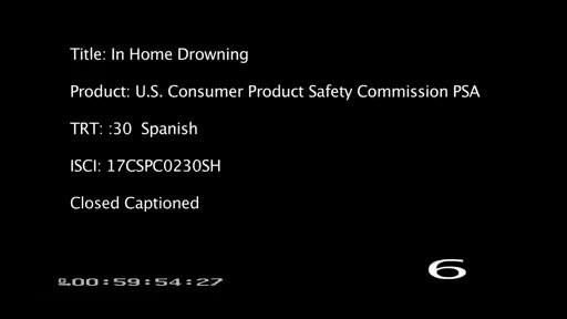 La CPSC alerta sobre peligros de ahogamiento ocultos en el hogar para los niños