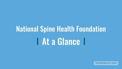 Congress Recognizes National Spine Health Foundation