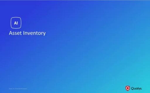 Qualys IT Asset Inventory delivers unprecedented visibility and a single source of truth for Security and IT Teams.