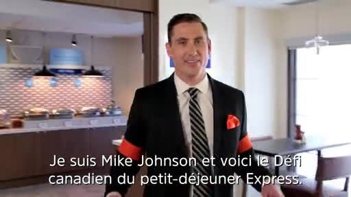 Vidéo: Défi canadien du petit-déjeuner Express : les légendes du hockey Doug Gilmour et Guy Carbonneau s'affrontent dans le cadre du Défi canadien du petit-déjeuner Express afin de créer l'ultime petit-déjeuner.