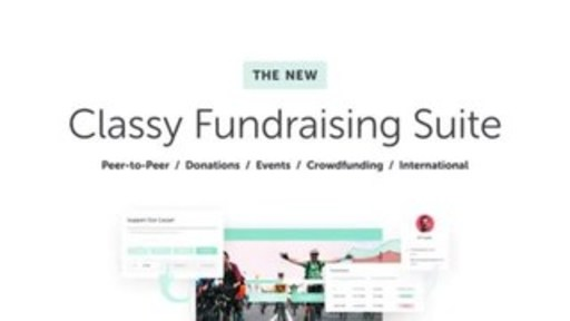 Classy unveils its powerful, next-generation online fundraising suite for nonprofits