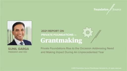 Private and Family Foundations Increase Disbursements to $362.8...