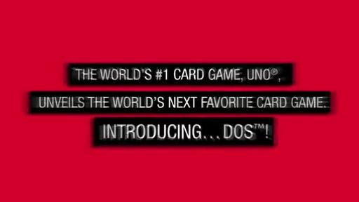 UNO®, World's #1 Card Game, Announces New Game - DOS™