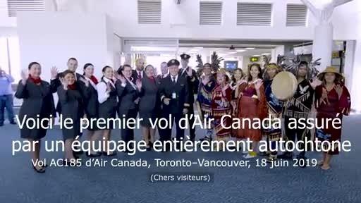 Air Canada est fière de saluer ses employés autochtones à l'occasion de la Journée nationale des peuples Autochtones