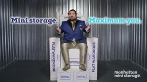 "New York's leading storage company celebrates 40 years withnew buzzworthy marketing campaign ""Mini Storage. Maximum You."""
