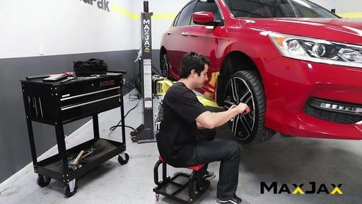 BendPak Redesigns MaxJax™ Portable Two-Post Lift from Ground Up...