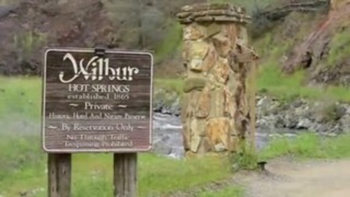 Historic 1760-acre Wilbur Hot Springs est. 1865