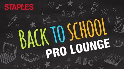Video: Staples Back-to-School Pro Lounge Opens in the Heart of Toronto (B-Roll)