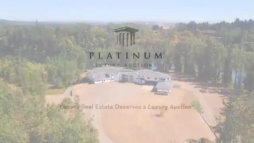 Sprawling, Pacific Northwest Mansion on 32 Waterfront Acres Readies for Luxury Auction® Oct 30