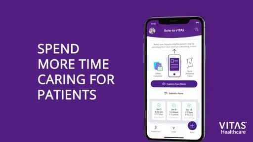 The VITAS app takes the guesswork out of hospice eligibility decisions with disease-specific guidelines for common diagnoses and easy-to-use assessment tools.