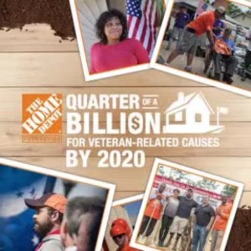 Today, The Home Depot(R) Foundation announced it has reached its goal of investing a quarter of a billion dollars in veteran-related causes by 2020 - two years early.