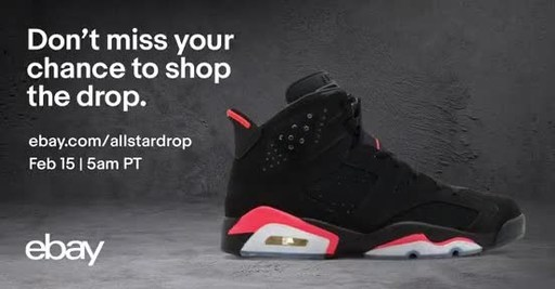 f400175546b7 eBay s All-Star Weekend Drop features a series of 23 limited-time drops  where