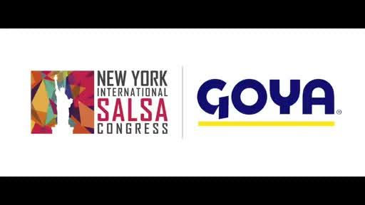 Get ready for an experience you'll never forget at the Goya Foods 2017 New York International Salsa Congress!  This year's festival kicks off with a pre-party on Wednesday night, August 30, followed by 4 incredible days & nights till September 3 of non-stop dancing, workshops, performances and live bands, once again at the spectacular New York Marriott Marquis in the heart of Times Square. Get your tickets now at www.newyorksalsacongress.com!