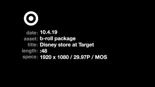 Disney store at Target opens at select 25 locations across the U.S. and on Target.com/DisneyStore. Disney elements: (c) Disney
