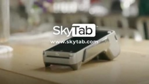SkyTab is a free device that fully integrates with the point-of-sale system and delivers a wide range of powerful features.