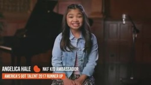 Angelica Hale, Runner-up on Season 12 of America's Got Talent and National Kidney Foundation Kid Ambassador