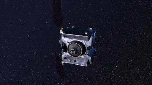Lockheed-Martin-REx-spacecraft-Animation