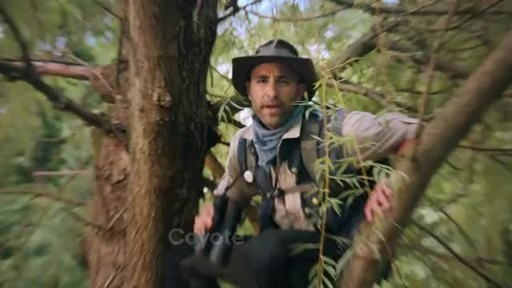 """In a short film titled """"ReOpen Ready,"""" adventurer Coyote Peterson helps a family get reacquainted with some seemingly basic tasks and equips them with the right tips, tricks and tools for navigating day-to-day activities."""