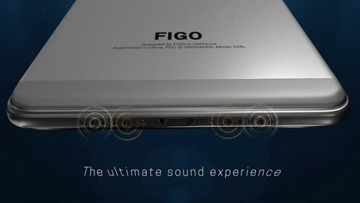 FiGO Gravity - Dual Sim 4G LTE with Octacore processor with 3GB Ram, 32GB Internal storage which is expandable to 64GB, 13MP Rear camera & 5MP front camera, 3000 mAh fast charging battery, Finger Print Sensor, Infrared Blaster, Free accessories worth $35, No contract Unlocked Smartphone