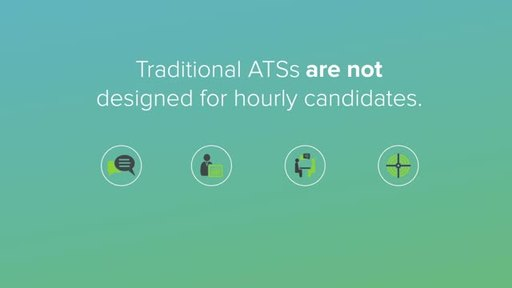 Jobalign's Candidate Engagement Platform bridges the gap between your ATS and hourly workers, reaching candidates on their terms -anywhere, anytime, on any device.