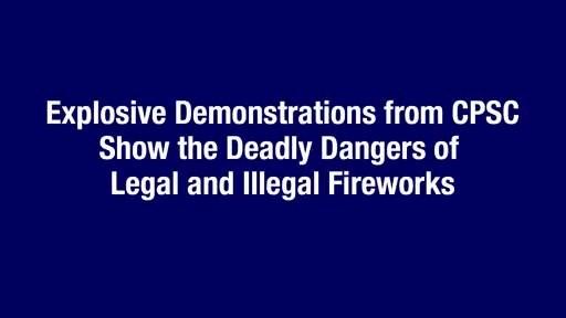 La CPSC le recuerda a los consumidores celebrar con seguridad las festividades del 4 de julio