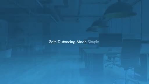 iOFFICE's Space-Right™ tool is a powerful new space-planning feature designed to take the guesswork out of workplace safe distancing.