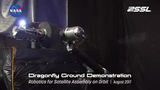 NASA awards SSL next phase funding for Dragonfly on-orbit assembly program, demonstrates confidence in public private partnership for space robotics