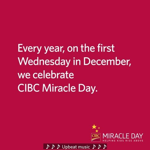 CIBC-CIBC Miracle Day raises -5-6 million for children-s chariti