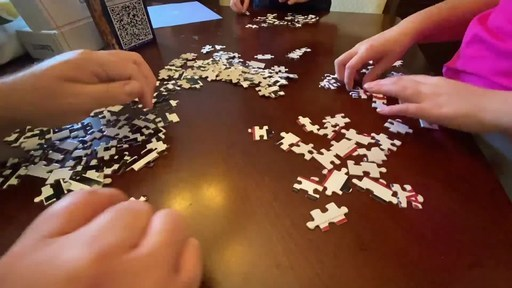 Zaxby's is giving away jigsaw puzzles in Kansas City, Missouri to celebrate National Family Day on Sept. 26. When the puzzle is assembled, it reveals a QR code that can be scanned through the Zaxby's app to redeem a coupon for a free Zax Family Pack.
