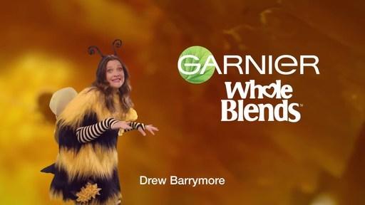 Garnier Whole Blends Announces Drew Barrymore as Brand Ambassador...