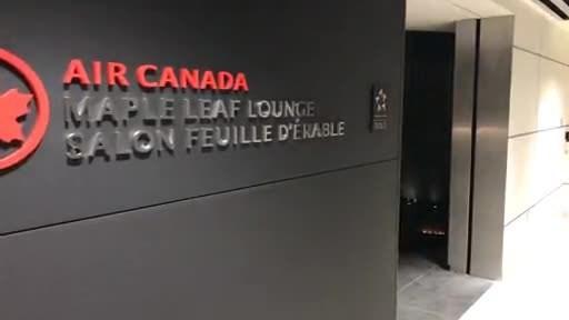Salon Feuille d'érable à l'aéroport international de St. John's